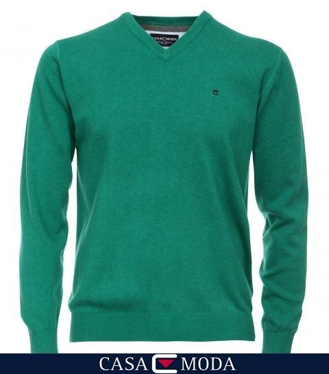 b246192d938 Casa Moda Luxury Vee neck Sweater